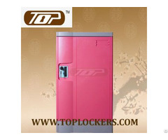 Triple Tier Plastic Gym Locker Multiple Locking Options