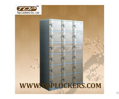 Six Tier Plastic Cabinet Strong Lockset For Security