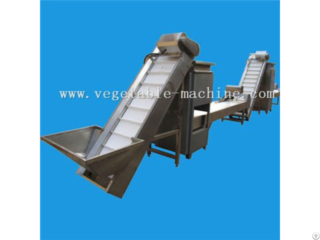Garlic Clove Separating And Peeling Production Line