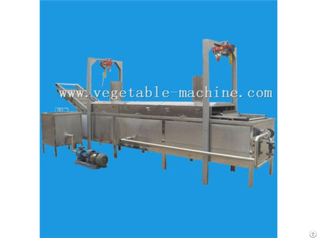 Garlic Slices Fryer Machine