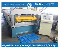 Metal Glazed Tile Forming Machine