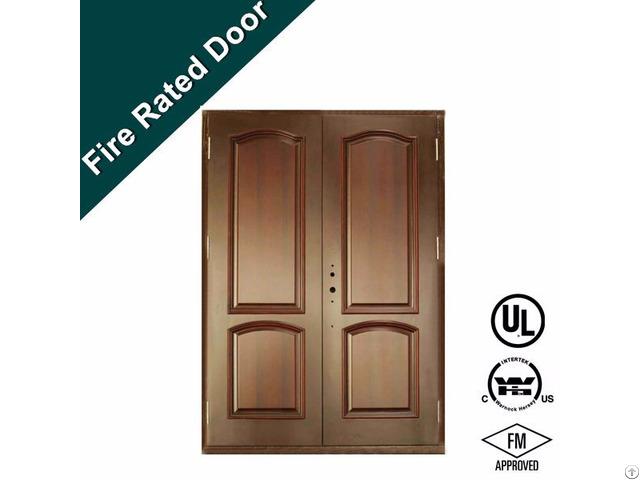 Ul Steel Fire Rattng Proof Door With Exit Lock