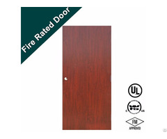 Ul Listed 45 Mins Wooden Fire Rated Door