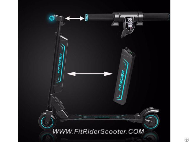 Fitrider Scooter Electric Mobility F1 T1s Model