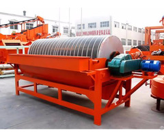 High Efficiency Wet Magnetic Separator For Mineral Plant