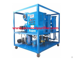 Mobile Transformer Oil Purification Processing System