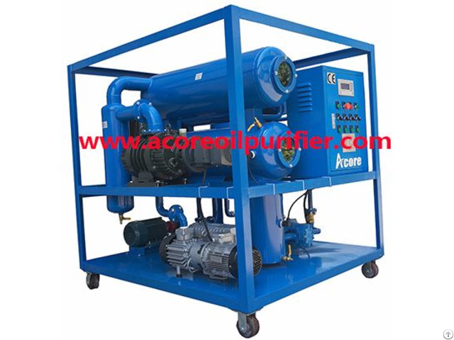 Waste Transformer Oil Filtering Machine