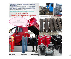 Hydraulic Lifting Cylinder For Dump Truck