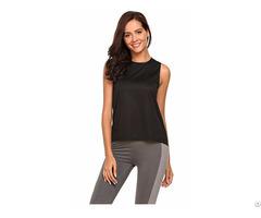 Women S Sleeveless Quick Dry Sports Tank Tops Yoga Vest