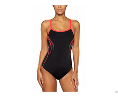 Women S Solid Pro One Piece Swimsuits Athletic Bathing Suits Swimwear