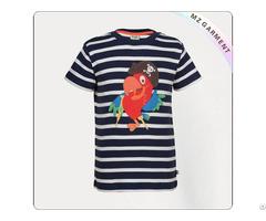 Kids Natural Parrot T Shirt