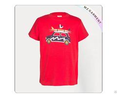 Kids Organic Car T Shirt