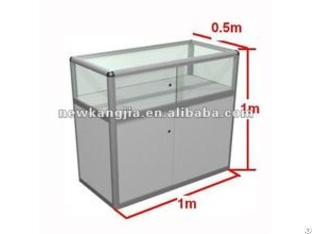 Chinese Supplier Aluminium Glass Display Cabinet Used In Fairs