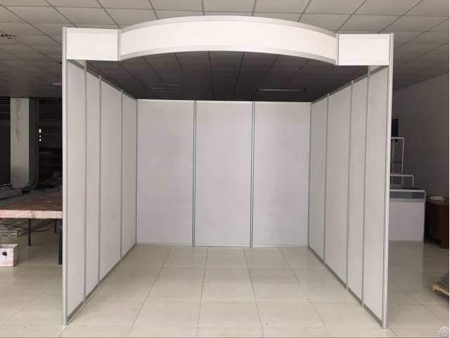 Aluminium 10x10 Fair Stand Exhibition Booth For Tradeshow