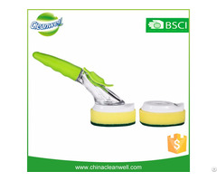 Soap Dispensing Sponge Dish Brush