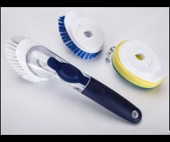 Soap Dipensing Dish Brush For Kitchen