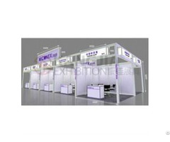 Connect In Line Of Standard Shell Scheme For Trade Show