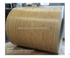Wood Pattern Printed Aluminum Coils For Cladding