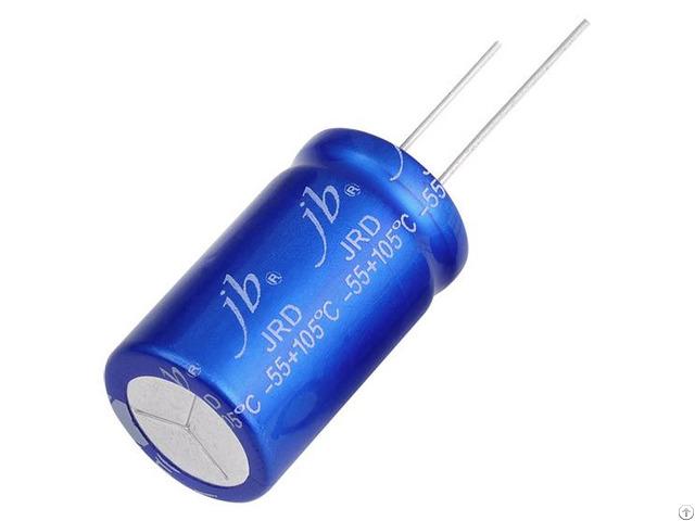 Jrd Radial Aluminum Electrolytic Capacitors 5000hrs At 105 C