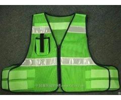 100%polyester Knitting Class2 Trrafic Reflective Safety Vest