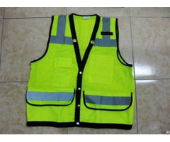 Name Card Pocket Including High Visibility Reflective Safety Vest With Ce Certificate