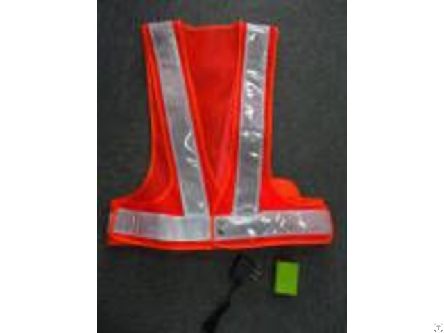 Customized Rechargeable El Safety Vest