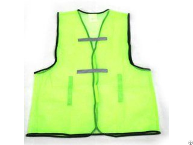 High Quality 100% Polyester Safety Vest With Ce