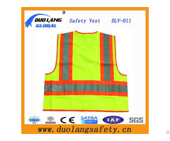 Reflective Safety Clothing Roadway Warning Vest