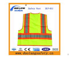 Reflective Safety Clothing Roadway Warning Vest