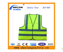 Polyester Warning Safety Reflective Vest