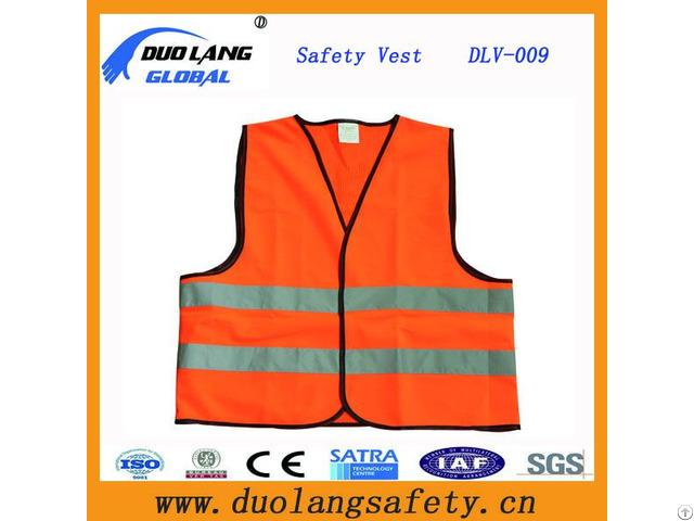 High Visibility Reflective Tape Safety Vest