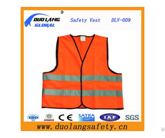 High Visibility Reflective Tape Safety Vest