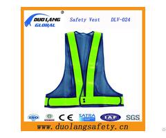 Polyester Safety Vest With Reflective Strip