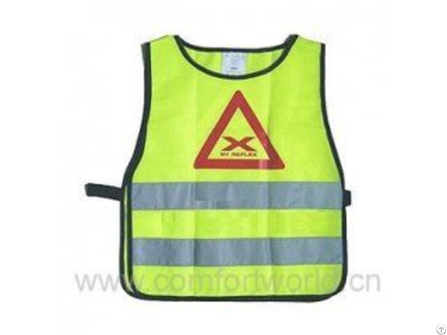 Working Safety Vest With Class 2 Reflective Tape