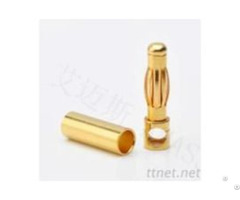 Amass 4 0mm 24k Socket Gold Connector Banana Plug