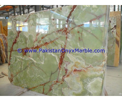 Pakistan Made Product Green Onyx Slabs
