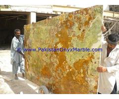 Factory Price Multi Green Onyx Slabs