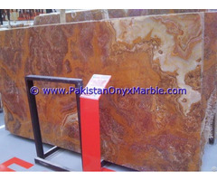 Free Sample For Most Popular Red Onyx Slabs