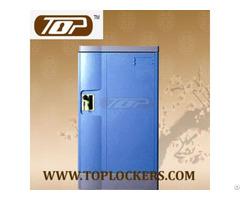 Triple Tier Storage Lockers Abs Plastic Navy Color