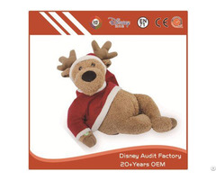 Plush Kids Toys Christmas Filling 100% Pp Cotton Embroidery