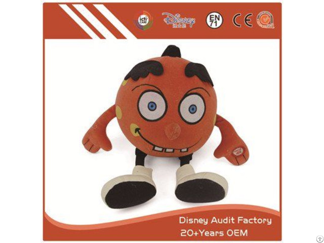 Plush Halloween Kids Toys Fabric Pattern Printing Color Custom