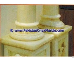 Onyx Columns Bases Designs Handcraved Pillars Carved Top