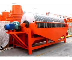 Low Cost Wet Magnetic Separator For Mineral Plant