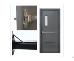 Ul Listed Commercial Steel Fire Door With Panic Bar