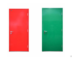 Intertek Fire Rated Resisdent Steel Door