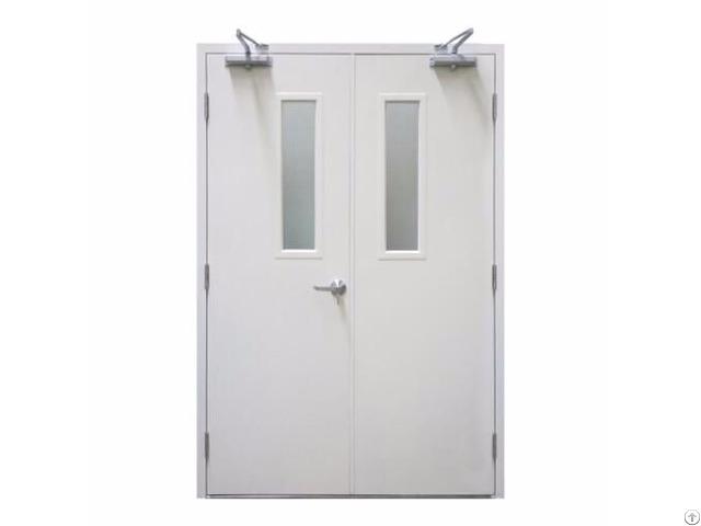 Fm Fire Rated Vision Panel Steel Door