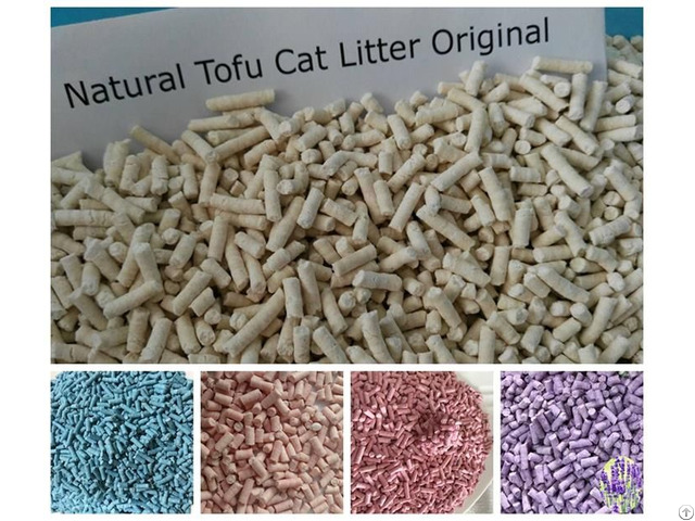 Biodegradable Tofu Cat Litter