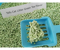 Flushable Tofu Cat Litter Green Tea Scent
