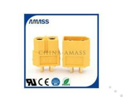 Amass Hot Selling And High Current Patent Joint Xt60u Lawn Mower Connectors