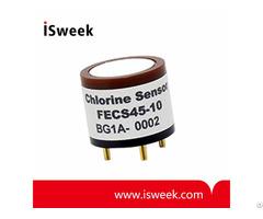 Fecs45 10 Electrochemical Chlorine Cl2 Sensor